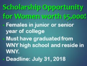 Scholarship Opportunity for Women